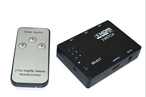 سوئیچ HDMI یک به سه 1080p (3 پورت) رزولیشن 3D