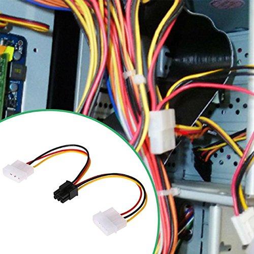 کابل برق 6 پین گرافیکی