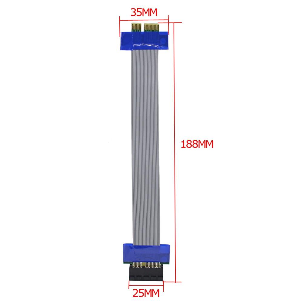 کابل افزایش طول 1X رایزر (PCI-E 1x to 1x)