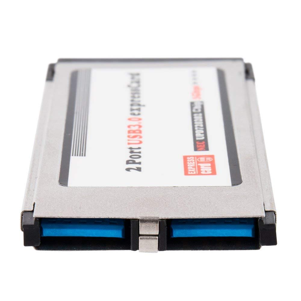 اکسپرس کارت USB 3.0 لپ تاپ دو پورت (34MM)