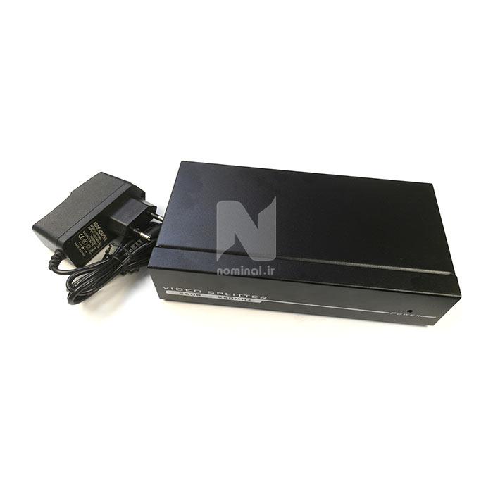 اسپلیتر 1 به 8 پورت VGA قدرت 250MHz لمونتک