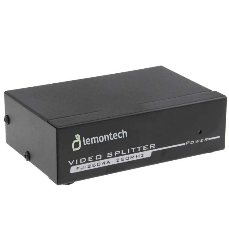 اسپلیتر 1 به 4 پورت VGA قدرت 250MHz لمونتک