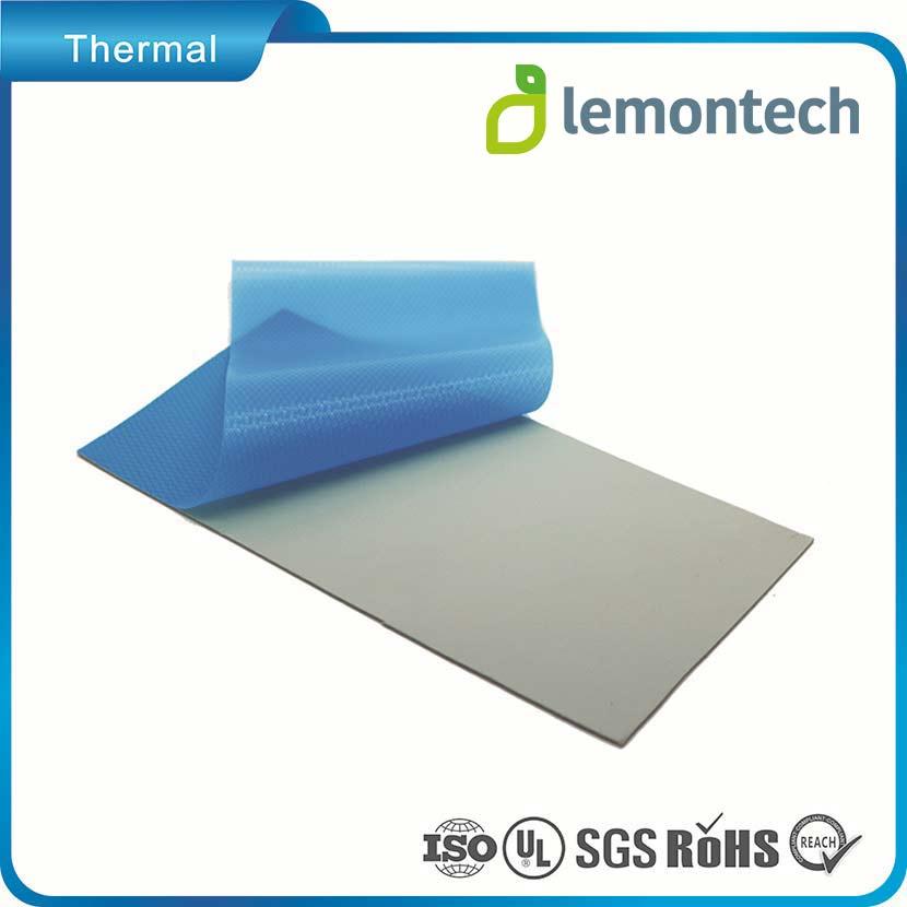 پد سیلیکون ورقه ای لمونتک طوسی (کربن)