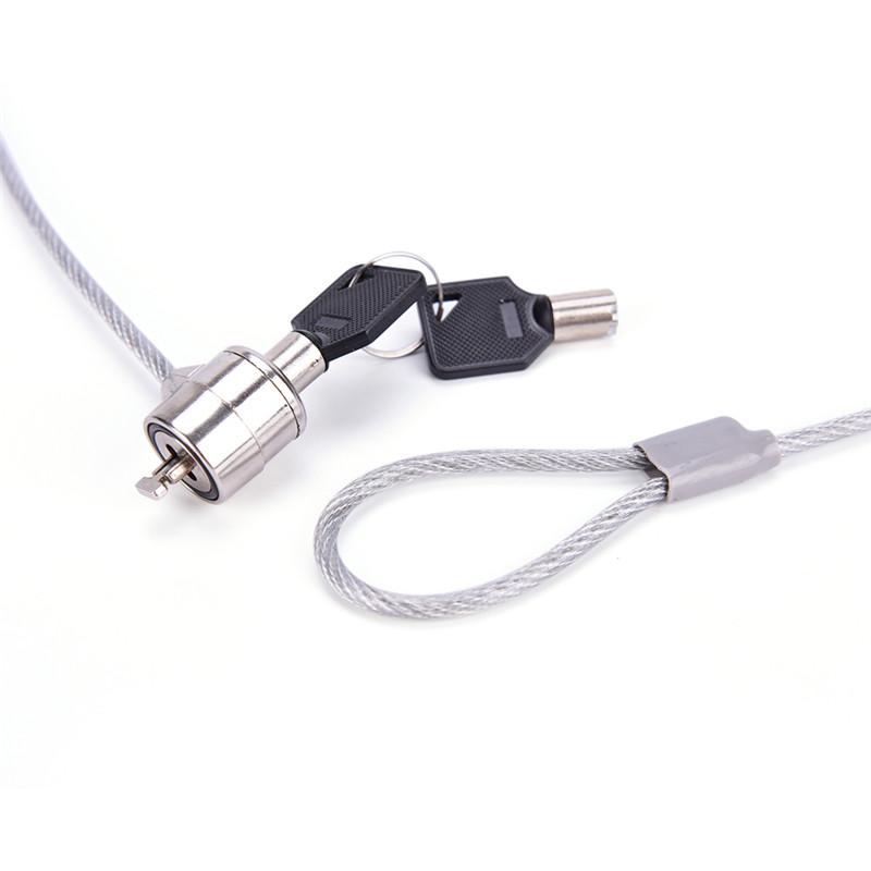 قفل لپ تاپ کلیدی سیم دار (2 کلید)