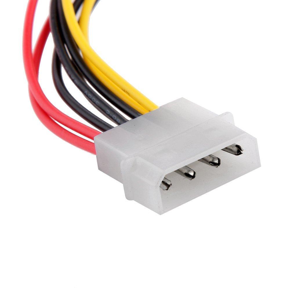1 به 2 برق IDE, افزایش برق IDE, کابل-تبدیل-1-به-2 برق-پاور