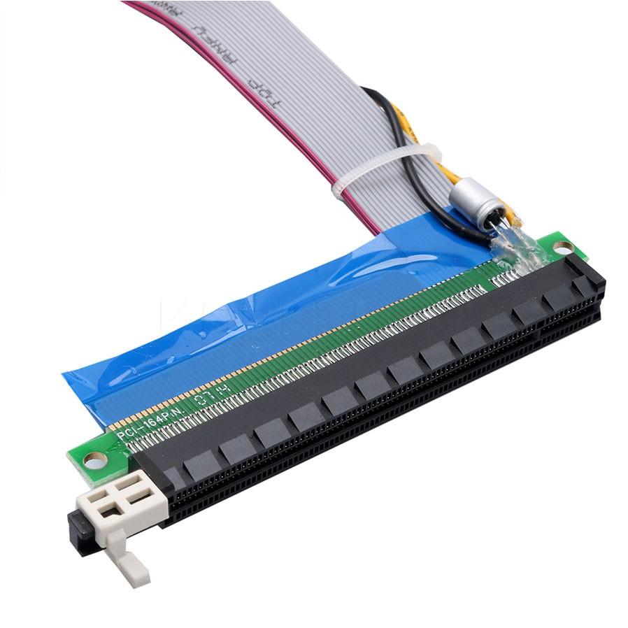 کابل فلت تبدیل پورت 1X گرافیک به 16X با طول 20 سانتی متر