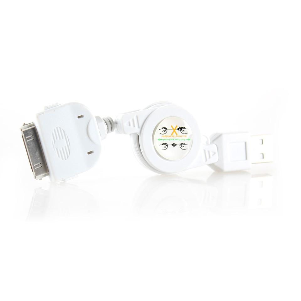 کابل USB به 30-پين ريمکس مناسب براي آيفون 4/4s به طول 1 متر