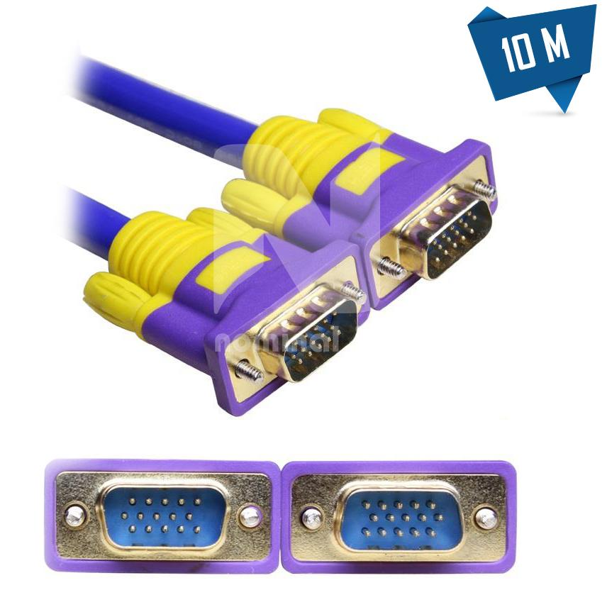 کابل VGA مسی برند اسکار 10 متری - نومینال