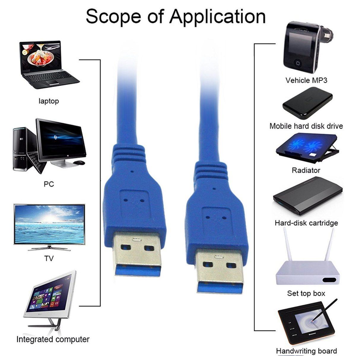 کاربرد کابل usb 3.0