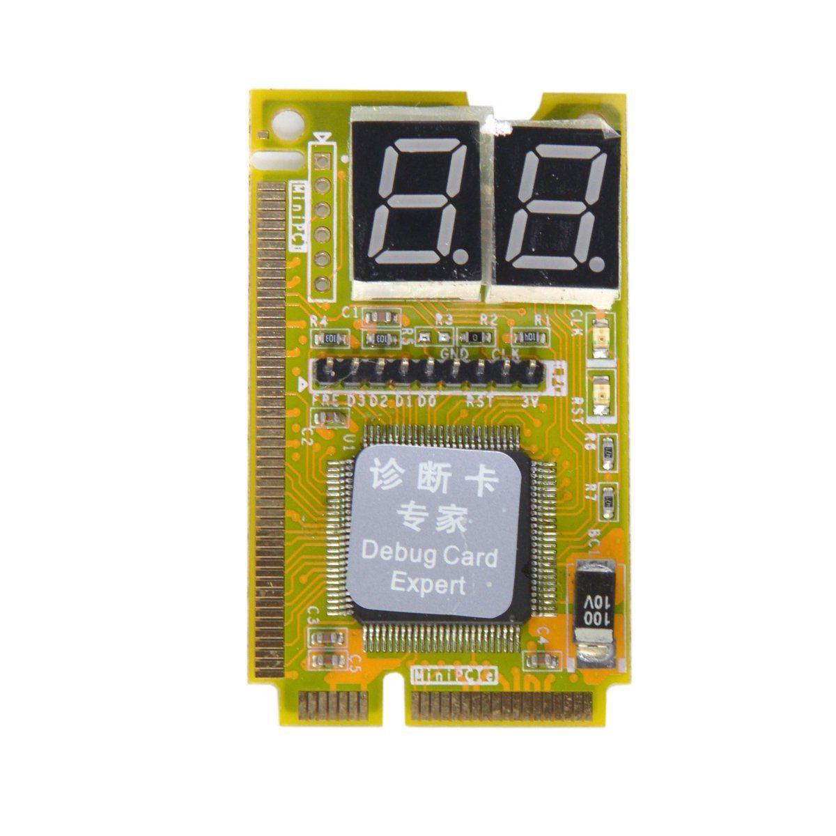 دیباگر و عیب یاب لپ تاپ mini-PCI (2 اسلات)