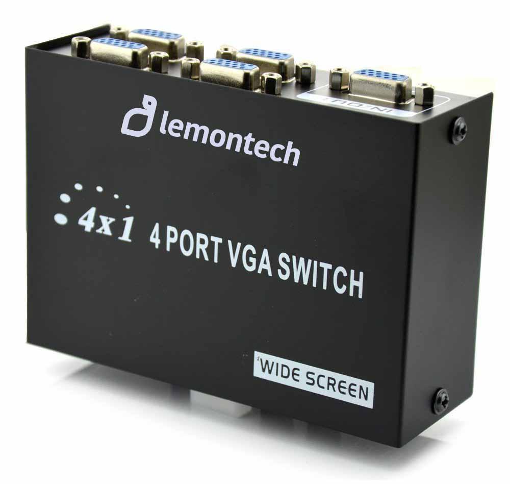 VGA 4 PORT SWICH