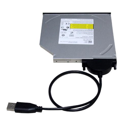 تبدیل USB به ساتا دی وی دی رایتر لپ تاپی