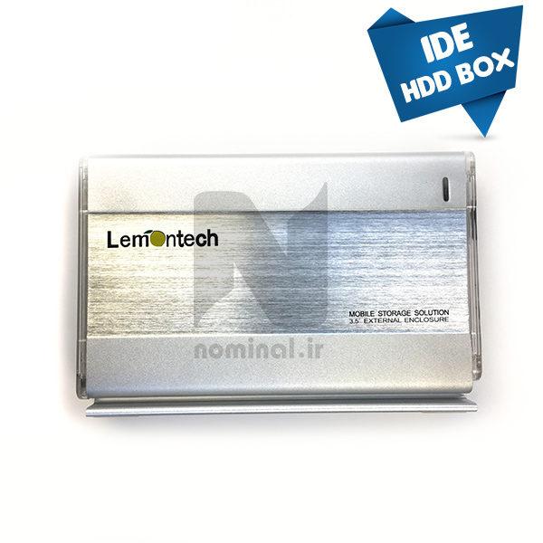 باکس هارد 3.5 اینچی IDE لمونتک (USB 2.0)