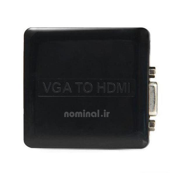 تبدیل vga به hdmi لمونتک (VGA TO HDMI)