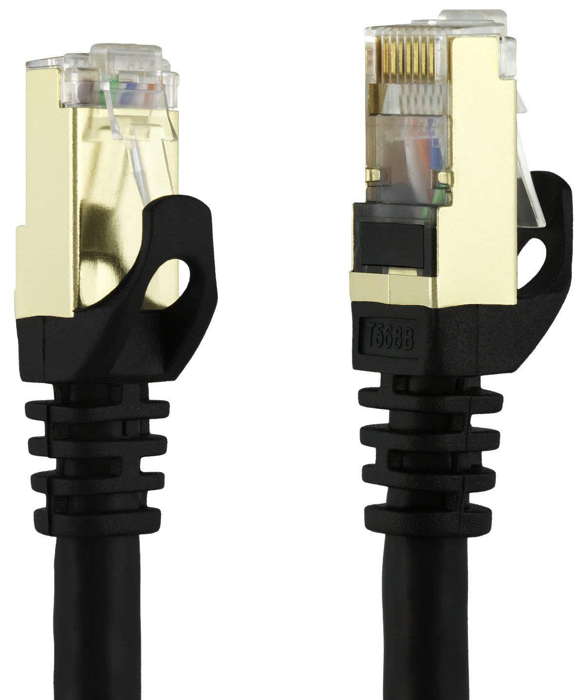 کابل شبکه CAT7 لمونتک 1 متری (CAT7 SFTP 1M)