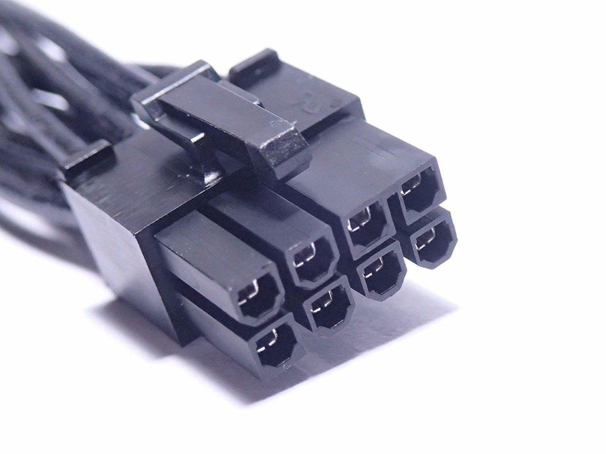 کابل تبدیل برق 6 پین به 8 پین گرافیک (دو ورودی)