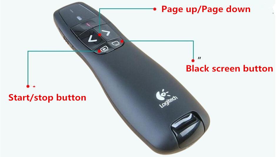 پرزنتر لاجیتک, logitech r400 قیمت, لاجیتک r400, دستگاه پرزنتور