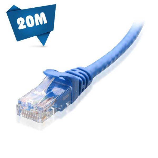 کابل شبکه 20 متری cat6