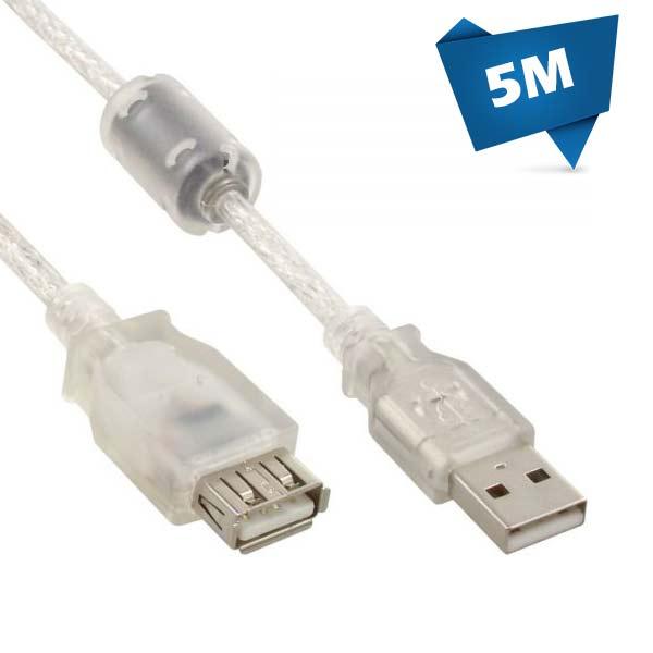 کابل شیشه ای افزایش USB