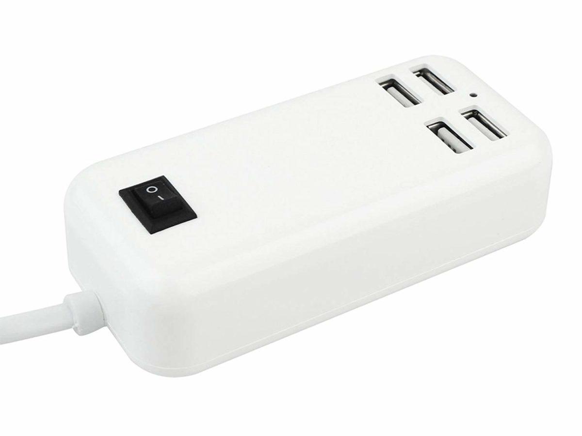 شارژر رومیزی 4 پورت USB مدل POWER HUB 4