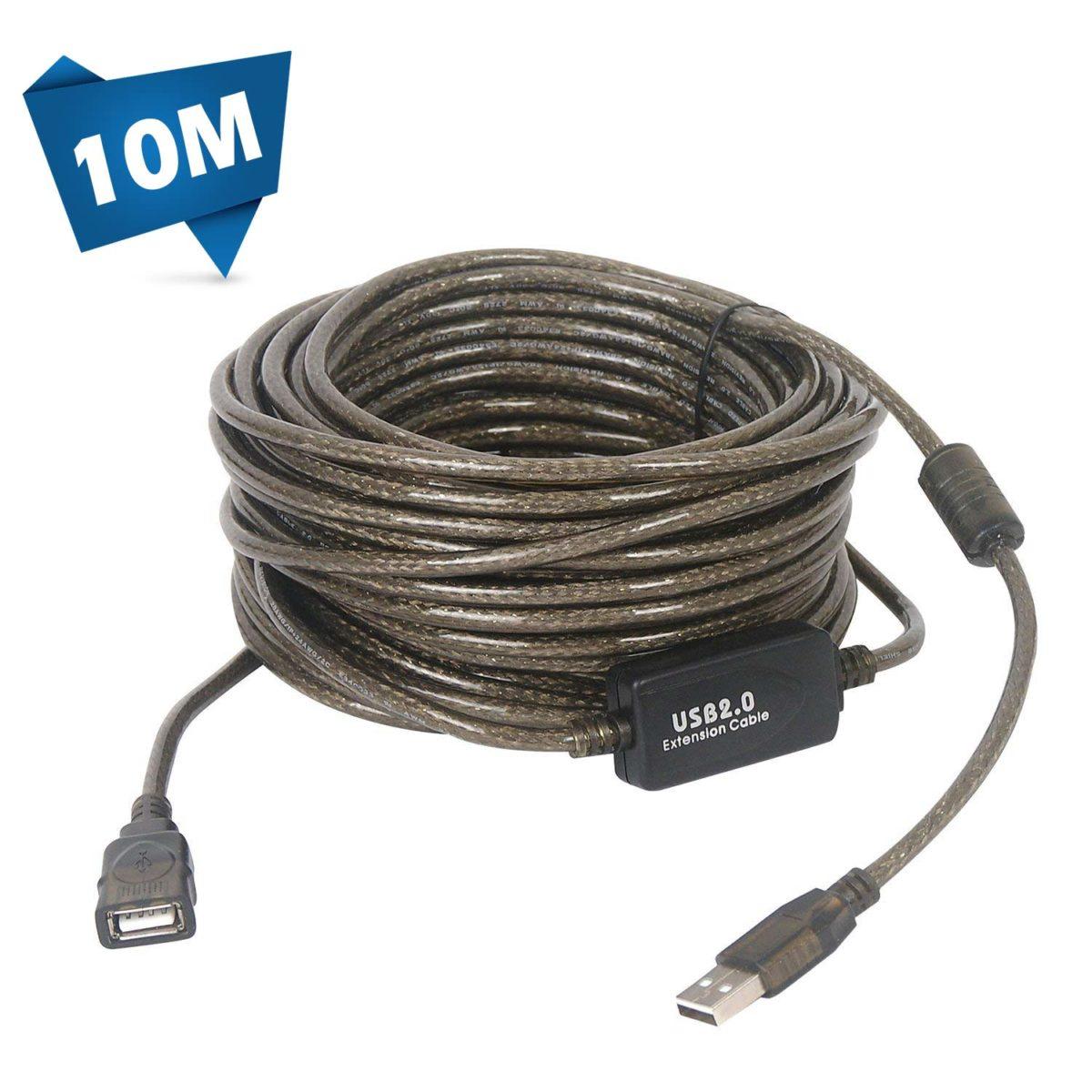 کابل افزایش طول 10 متری USB