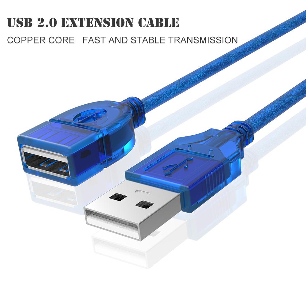 کابل افزایش طول USB 2.0 لمونتک (10 متری)