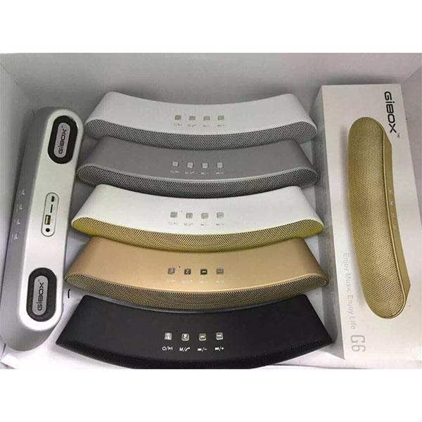 اسپیکر بلوتوثی GIBOX مدل G6 با چهار اسپیکر