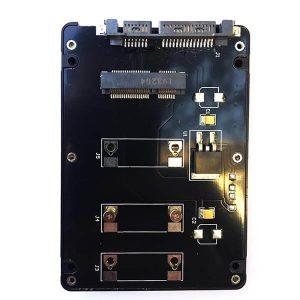 تبدیل mSATA به SATA معمولی (mSATA SSD to 7mm SATA)