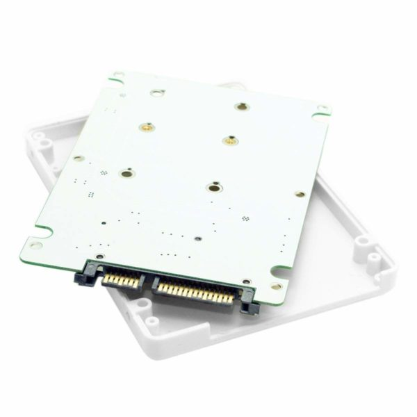 تبدیل mSATA به SATA معمولی (mSATA SSD to 7mm SATA)