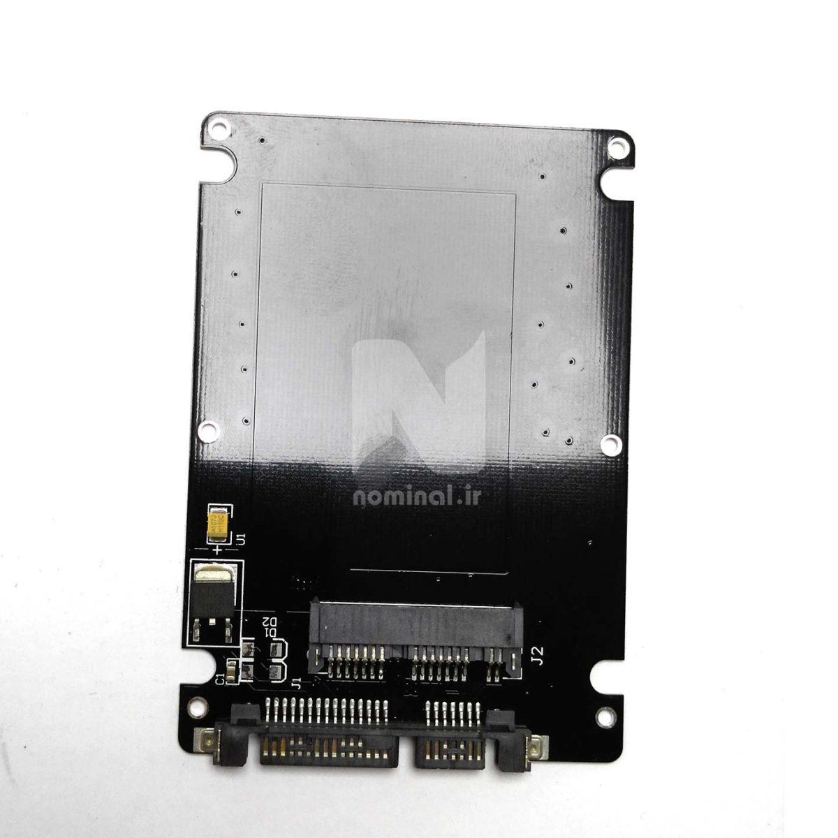 تبدیل هارد uSATA به SATA معمولی (uSATA SSD to SATA)