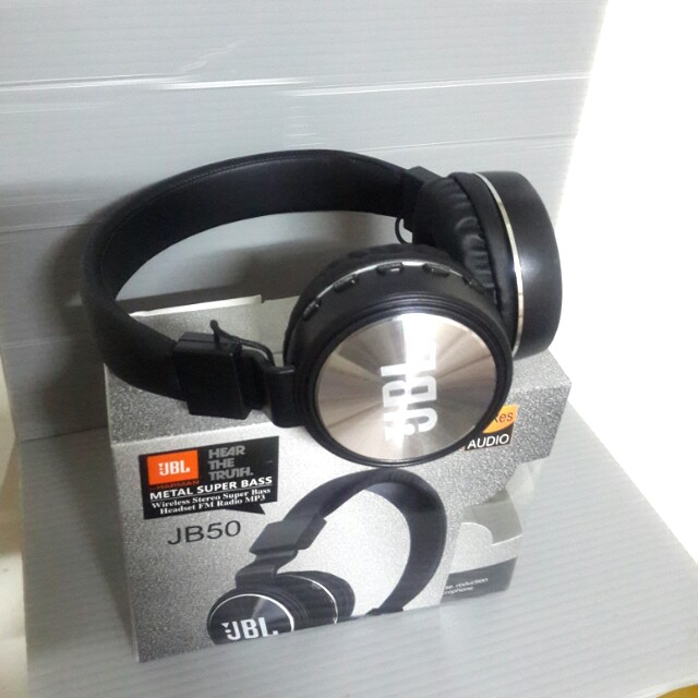 هدفون بلوتوث JBL مدل JB-50 (بی سیم)