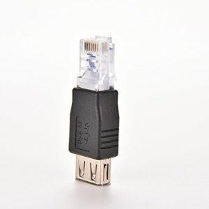 تبدیل USB به RJ45 شبکه LAN