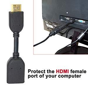 کابل افزایش طول 10 سانتی HDMI (افزایش طول HDMI)