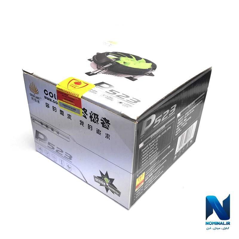 فن 1155 و 1156 پردازنده مدل P523