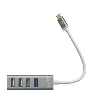 هاب 4 پورت Type C به USB 3.0 - 2.0 بیاند BA-450