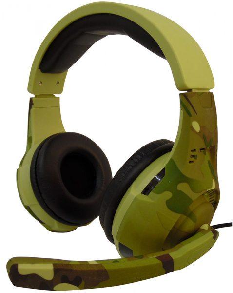 هدست گیمینگ با میکروفون TUCCI A4 Camouflage light green