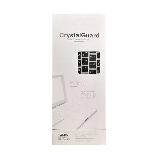 محافظ کیبورد با حروف فارسی مدل Crystal Guard مناسب برای لپ تاپ ایسوس