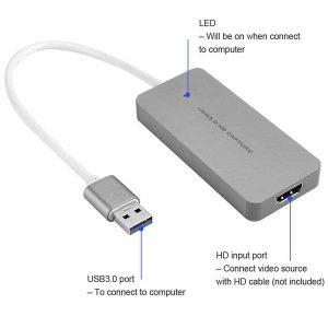 قیمت خرید کارت کپچر HDMI مدل Ezcap 256