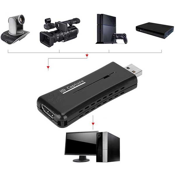 قيمت خريد کارت کارت کپچر USB 2.0 HDMI
