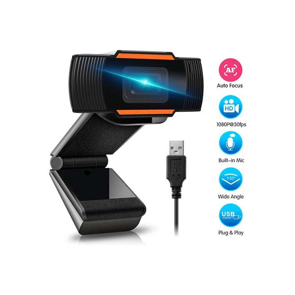 قیمت خرید دوربین کامپیوتر (وب کم) FULL HD لمونتک