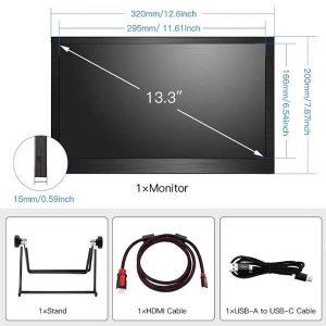 قیمت خرید مانیتور 13.3 اینچ FULL HD