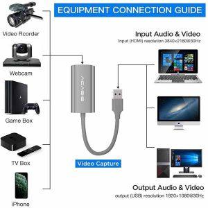 قیمت خرید کارت کپچر اکسترنال HDMI آکاسیس مدل HD31