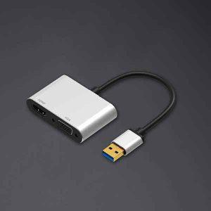 قیمت خرید تبدیل HDMI / VGA به USB3.0