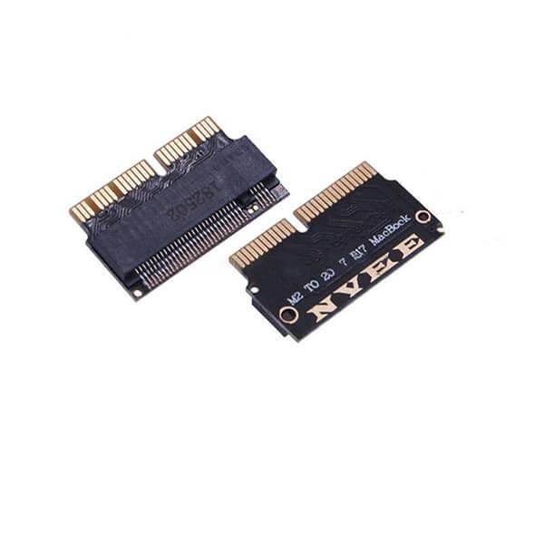 قیمت خرید تبدیل SSD NVMe M.2 به PCI-e برای مک بوک
