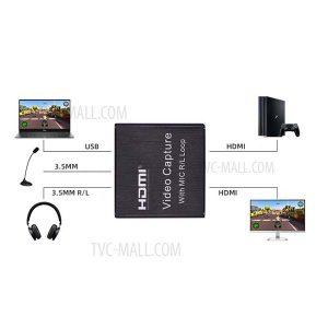 قیمت خرید کارت کپچر اکسترنال HDMI لمونتک