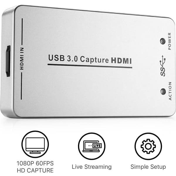 قیمت خرید کارت کپچر HDMI مدل UH60