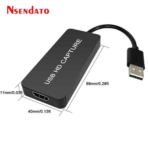 کارت کپچر اکسترنال HDMI FULLHD مدل EZcap311L