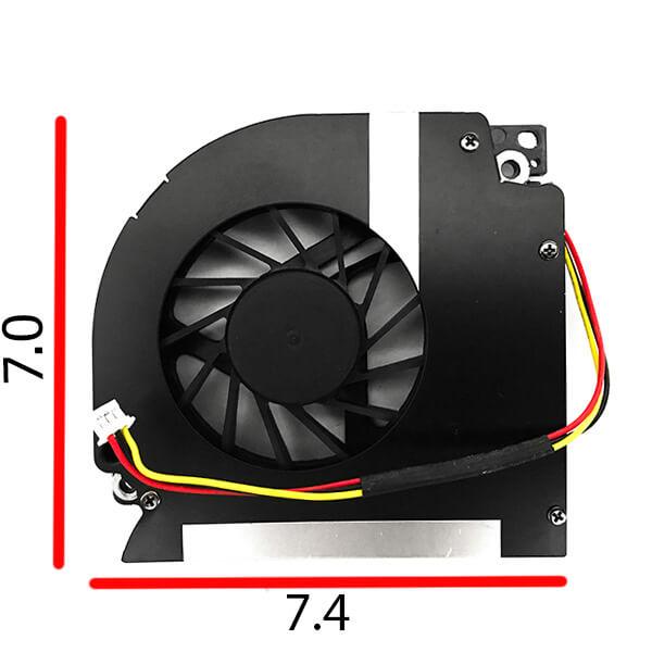 قیمت خرید فن خنک کننده سی پی یو لپ تاپ دل مدل 6400