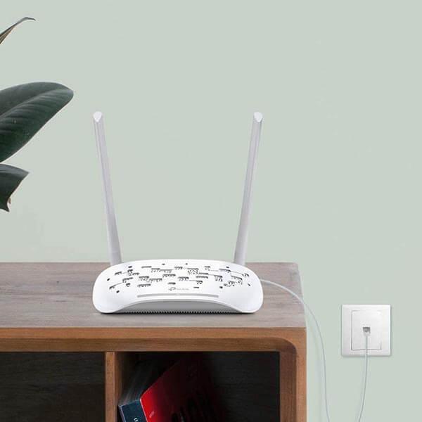 قيمت خريد مودم روتر ADSL2 Plus بی_سیم تی پی-لینک مدل TD-W8961N (3)