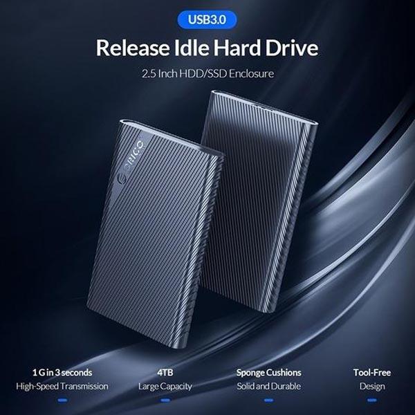 قیمت خرید باکس هارد 2.5 اینچ اوریکو مدل 2521U3